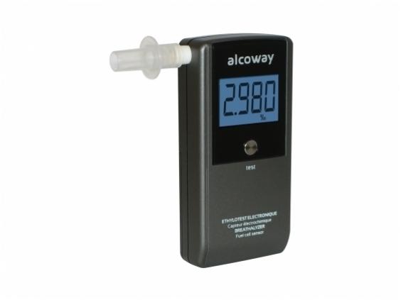 Alkotesteris Alcoway NF su elektrocheminiu jutikliu