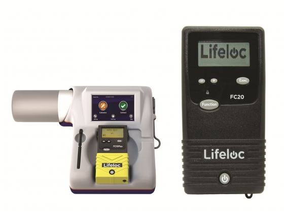 Alkotesteris Lifeloc FC20 su kalibravimo sistema EASYCAL®