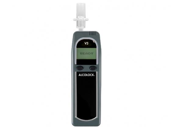 Užvedimą blokuojantis alkotesteris - alkoblokas ALCOLOCK™ V3B2 WIFI