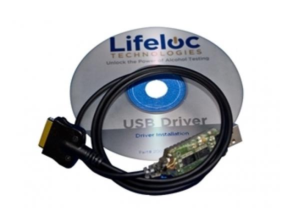 Kompiuterinė programa skirta Lifeloc alkotesteriams