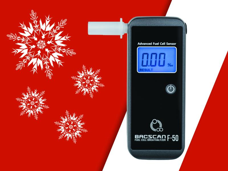 Alkotesteris su elektrocheminiu jutikliu BACscan F-50 Plus LT   + DOVANA - 10 vienkartinių antgaliukų  (pridedama prie standartinės komplektacijos)  + 1 NEMOKAMAS alkotesterio kalibravimas    vos 120,69 Eur!