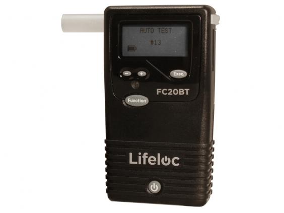 Alkotesteris Lifeloc FC20BT su bluetooth sąsaja