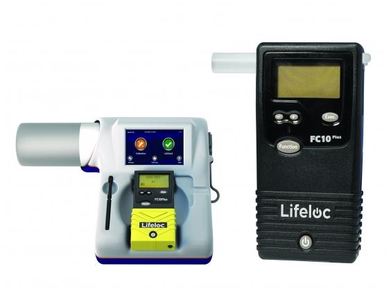 Alkotesteris Lifeloc FC10 Plius su kalibravimo sistema EASYCAL®