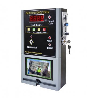 Stacionarus monetinis alkotesteris AT319V su LCD ekranu