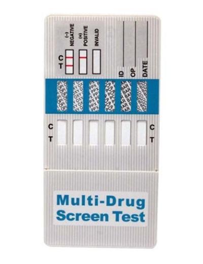 Momentinis narkotikų testas (panardinamas), aptinka 10 rūšių narkotikus