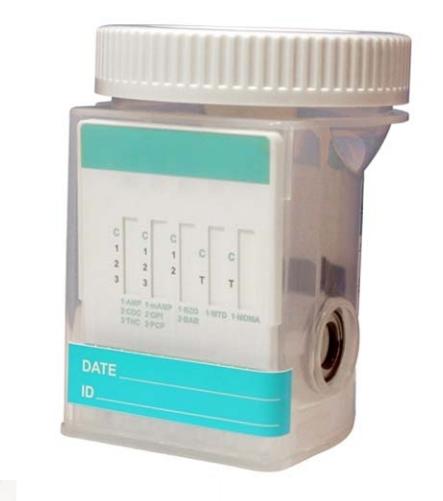 Narkotikų testo mėginio indelis, tiria 10 rūšių (25 vnt)