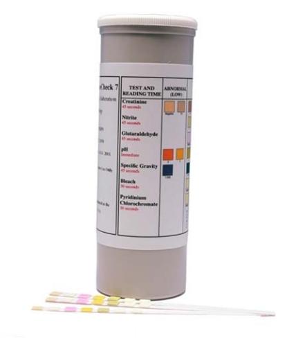 Šlapimo testo falsifikavimo testas Urine Check 7