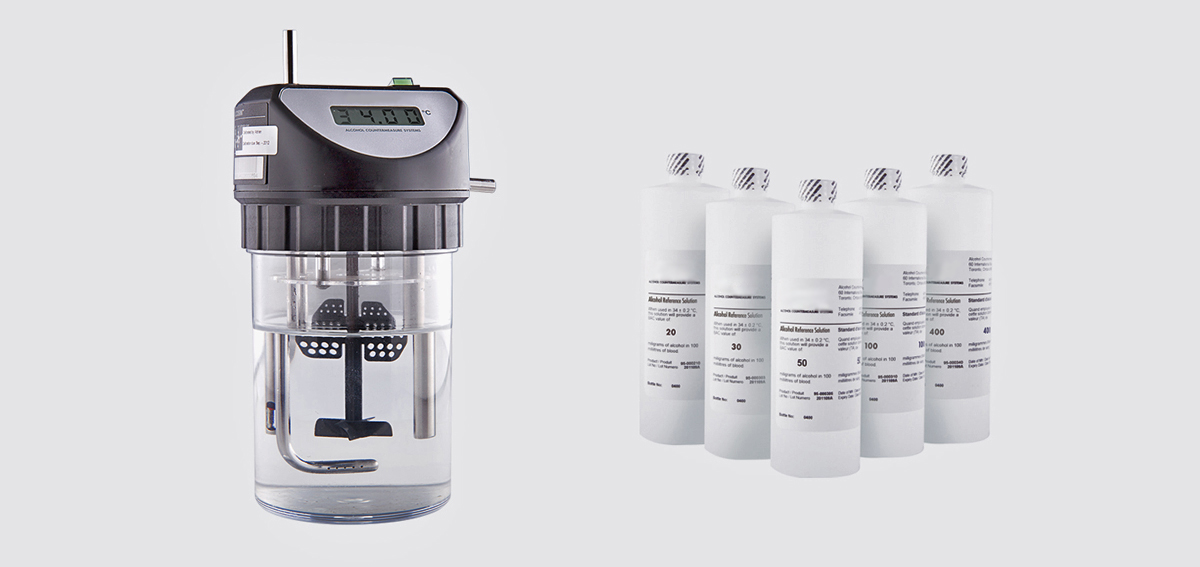 alkotesterių kalibravimo įranga