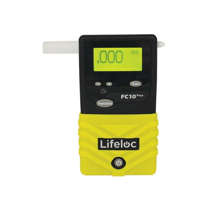 Alkotesteris Lifeloc FC10 Plius su metrologine patikra