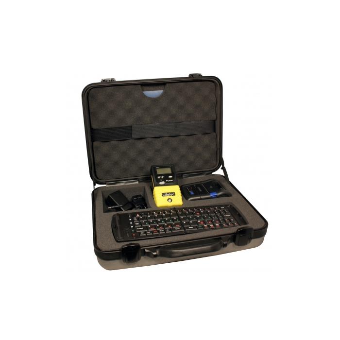 Alkotesteris Lifeloc FC20BT DMS Kit su bevieliu spausdintuvu, klaviatūra ir metrologine patikra